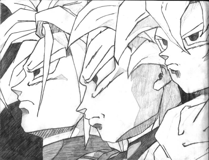 gohan super saiyan 4 coloring pages