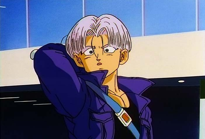 Temple O' Trunks - Images - Trunks Screencaps - DBZ Movie 7 - Page 1