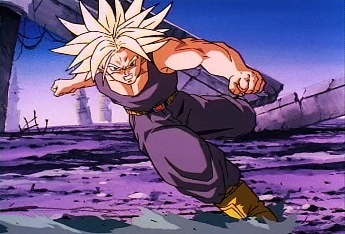 Temple O' Trunks - Images - Trunks Screencaps - DBZ Movie 8