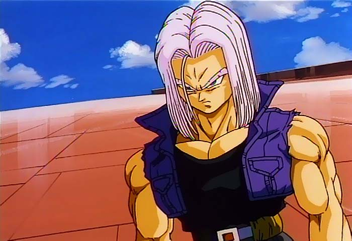 Temple O' Trunks - Images - Trunks Screencaps - DBZ Movie ... Gohan Ssj2 Vs Bojack